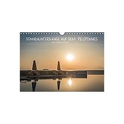 Sonnenuntergänge auf dem Peleponnes (Wandkalender 2021 DIN A4 quer)