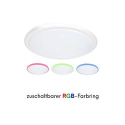 kalb LED Deckenleuchte kalb LED Deckenleuchte Farbwechsel RGB Deckenleuchte Designleuchte Wohnzimmer