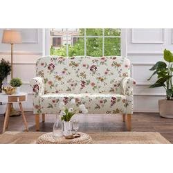 Max Winzer® 2-Sitzer Juuma, 1 Teile, Küchensofa mit Federkern, mit Blumenmuster