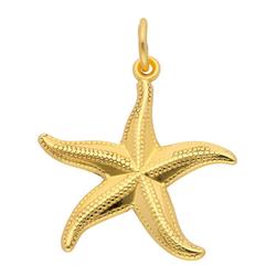 Adelia´s Kettenanhänger 333 Gold Anhänger Seestern