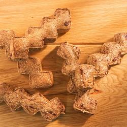 alsa-nature Pansen-Brocken, 3 x 1 kg, Hundefutter