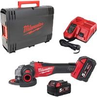 Milwaukee M18 CAG125X-502X inkl. 2 x 5,0 Ah 4933448866