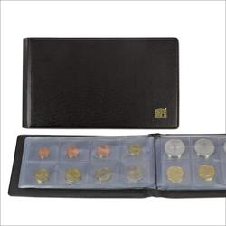 Taschen Münzenalbum.für 80 Münzen bis Durchmesser 40 mm.Auch für 10 Euromünzensätze.