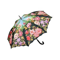 von Lilienfeld Stockregenschirm Regenschirm Rosengarten
