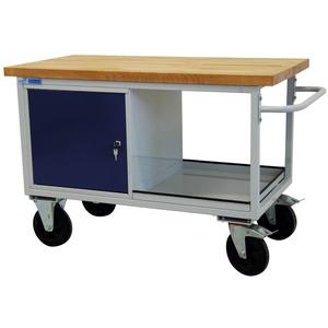 ADB Werkbank Werktisch Tischwagen fahrbar 1300x840x600 mm