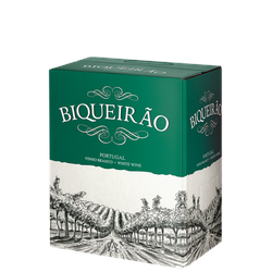 Biqueirão Branco Bag-in-Box - 5,0 L - Adega Cooperativa de Carvoeira - Portugiesischer Weißwein