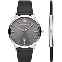 Emporio Armani Herrenuhr AR80026 Set mit Armband