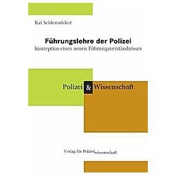 Führungslehre der Polizei. Kai Seidensticker  - Buch