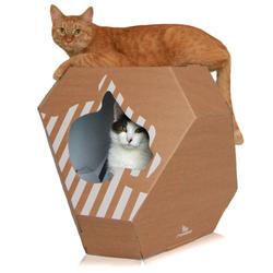 MyKotty MIA Katzenhöhle + Kratzmatte Kratzmöbel  Katzenbett