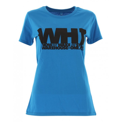 WH1 TYPO Slim Fit Lady T-Shirt electric blue - M