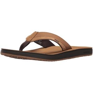 Reef Herren LEATHER CONTOURED CUSHION Zehentrenner, Beige (Tan Tan), 42 EU