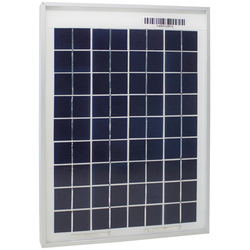 Phaesun Solarmodul Sun Plus 10, 10 W, 12 VDC silberfarben Solartechnik Bauen Renovieren