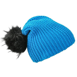 Wintersport Beanie | Myrtle Beach aqua/black