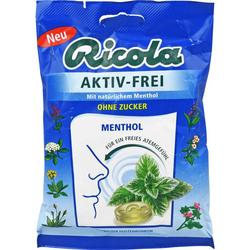 RICOLA AKTIV-FREI ohne Zucker Bonbons 75 g