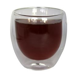 ZELLERFELD Gläser-Set 2er Set Teegläser Thermoglas Kaffeegläser Doppelwand 250ml ideal für Tee, Kaffee, Kakao, Cappucino