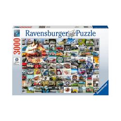 Ravensburger Puzzle 99 Bulli Moments, 3.000 Teile, Puzzleteile