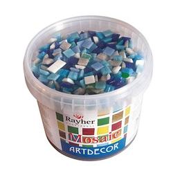 Rayher Mosaiksteine blau 1,0 x 1,0 cm 1 Pack