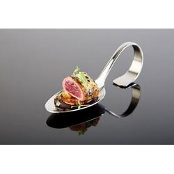 APS Gourmet-Löffel -CLASSIC- Länge 135 cm 180 Edelstahl VE 250 Stück 00677