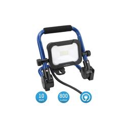 ANSMANN® LED Baustrahler Baustrahler LED 10W – Baustellen Lampe, Bau Leuchte, IP54 wetterfest