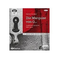 Die Marquise von O  1 Mp3-CD - Hörbuch