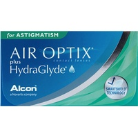 Alcon Air Optix plus HydraGlyde for Astigmatism, 3er Pack / / 14.50 DIA / -10.00 DPT / -1.75 CYL / 50° AX