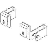 HAILO Haken mit Holmumfassung für Schachtleitern mit 40x20mm Holmabmessung