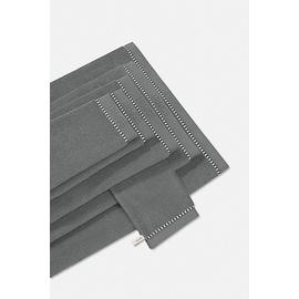 Esprit Box Solid Handtuch (2x50x100cm) anthracite