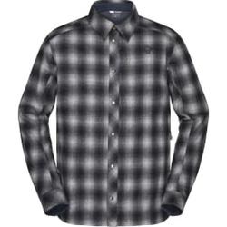 Norrona - Tamok Wool Shirt M Dark Grey - Hemden - Größe: M