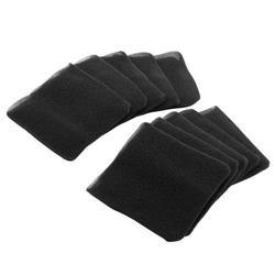 vhbw 10x Staubsaugerfilter Ersatz für Aquavac 45120823 für Staubsauger Schaum-Filter