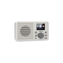 ONECONCEPT TuneUp Internetradio 5W WLAN USB HCC-Display Line-Out weiß Internet-Radio (Internetradio, 5 W, WLAN)