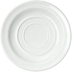 WACA Untertasse, (4 Stück), Melamin, 14 cm weiß
