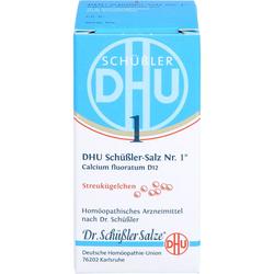 BIOCHEMIE DHU 1 Calcium fluoratum D 12 Globuli 10 g
