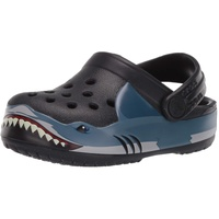 Crocs Fun Lab Shark Band Clg K 206271 Black, Größe: 23.5