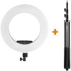 Walimex pro LED Ringleuchte Medow 960 Pro Set