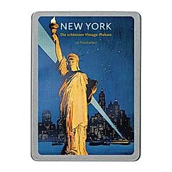 New York, 20 Postkarten