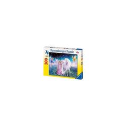 Ravensburger Puzzle Puzzle, 300 Teile XXL, 49x36 cm, Magisches Einhorn, Puzzleteile