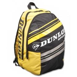 Rucksack- Dunlop Rucksack (Club Taschen Serie)schwarz-gelb