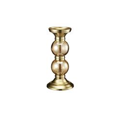 Kerzenständer ¦ gold ¦ Glas , Edelstahl, Aluminum Ø: 14