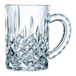 Nachtmann Bierkrug Noblesse Bierkrug 600 ml, Kristallglas weiß
