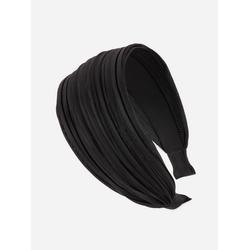 axy Haarreif Breiter Haarreif Wunderschön, Damen Breiter Haarreif Haarband Haarreifen schwarz