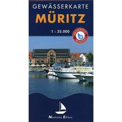 Müritz 1 : 35 000 Gewässerkarte - Gewässerkarten