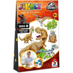 Schmidt Spiele Konturenpuzzle Jurassic World, 1500 Puzzleteile