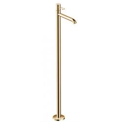 Axor Uno Waschtischarmatur 38037930 Polished Brass, bodenstehend
