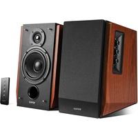 Edifier R1700BT 2.0 Bluetooth Regallautsprecher Paar, - schwarz/braun
