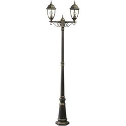DeMarkt Außen-Stehlampe Fabur