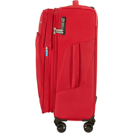 American Tourister Summerfunk 4-Rollen 67,5 cm / 71,5-77 l red