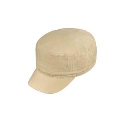 Chaplino Army Cap im Army-Style beige
