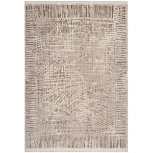 Lalee Edelteppich mit 3D Struktur, Beige, 80 x 150 cm