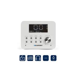 Blaupunkt CDR 10 WH Radiowecker (UKW, UKW Uhrenradio mit CD Player und Wecker)