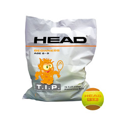 Tennisbälle- Head- TIP orange - 72 Bälle TIP Orange/Polybag